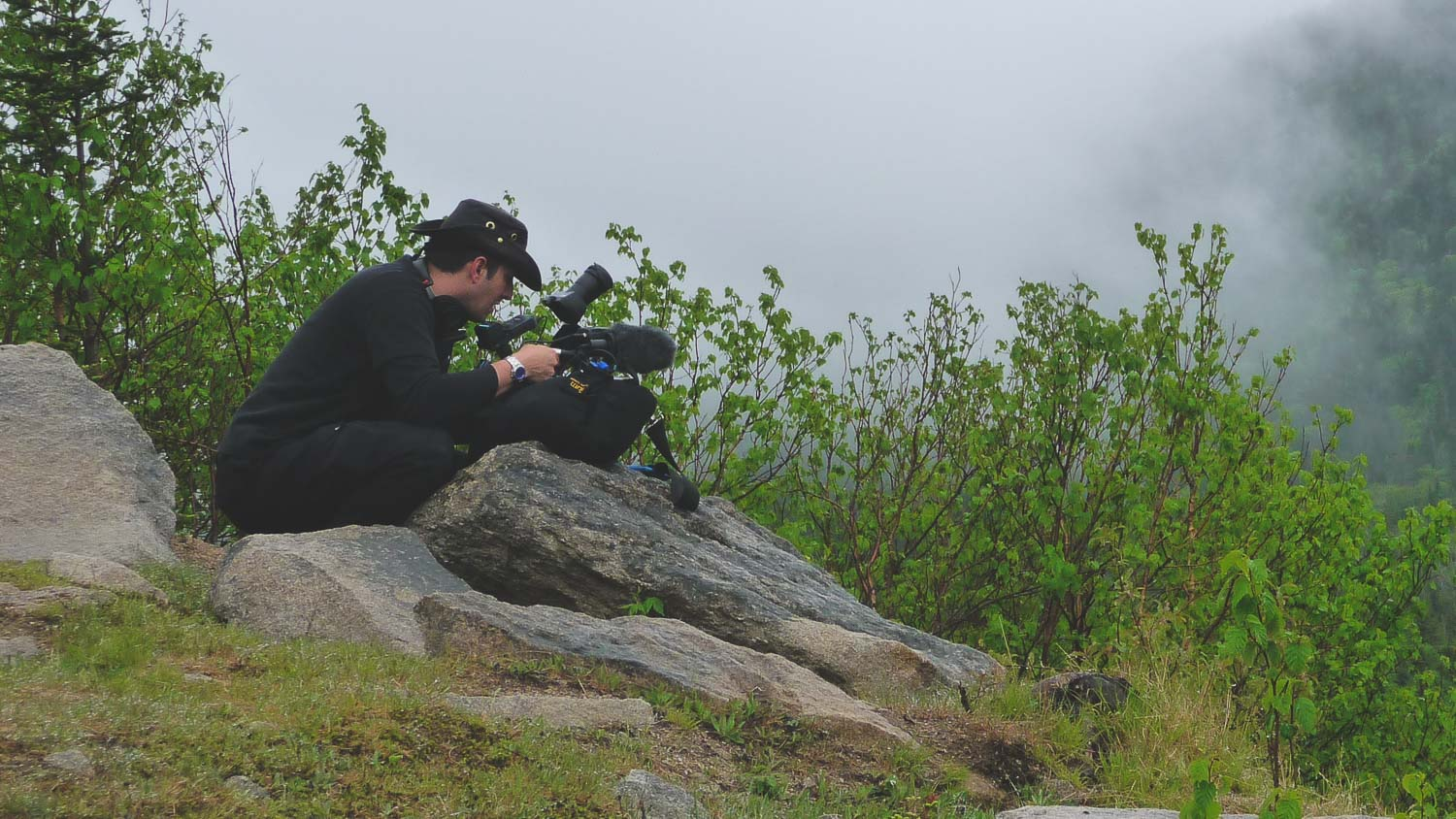 During the production of The Great Trails 1 with Richard Duquette the Director of Photography