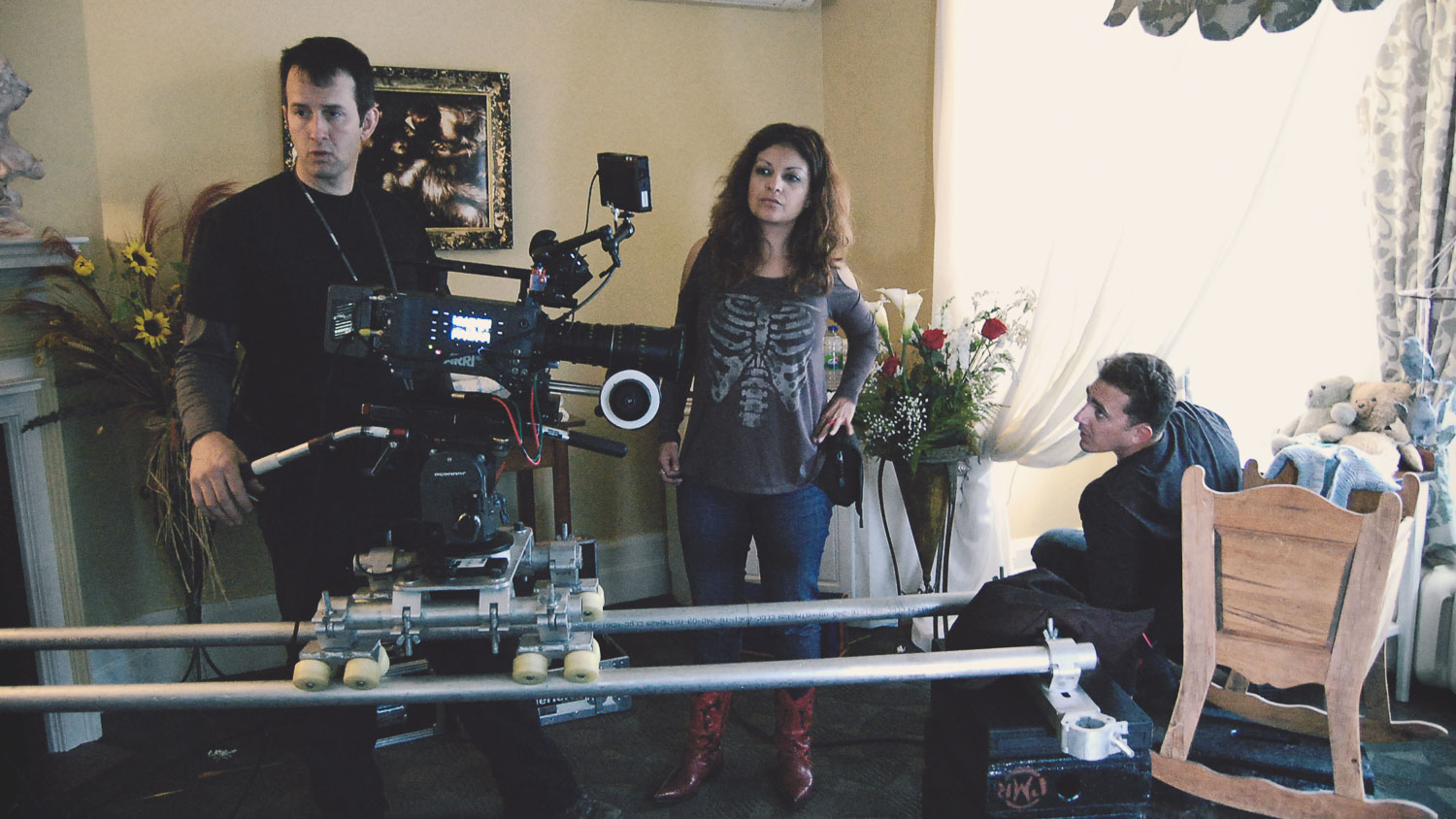 Richard Duquette Forge Films DOP serpent Lullaby with director Patricia Chica