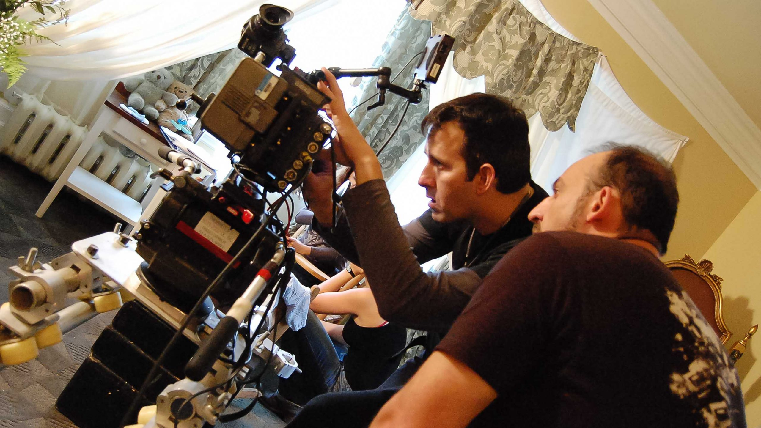 Serpent Lullaby shooting with our DOP Richard Duquette