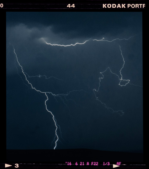 Electrical storms and lightning represent a fantastic source of energy